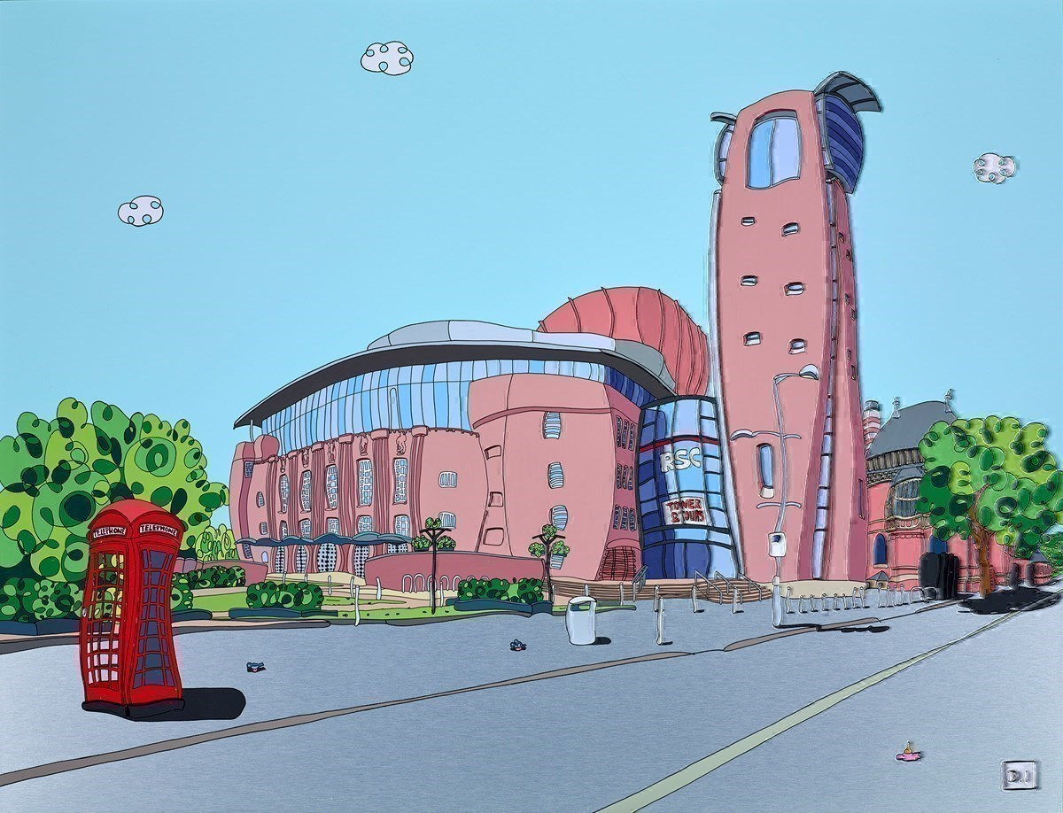 RSC Stratford by Dylan Izaak -  sized 36x28 inches. Available from Whitewall Galleries